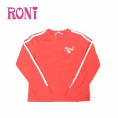RONI ロニィ ロニー 子供服 18春 ストレッチ天竺配色ライン長袖Tシャツ r1381331706156