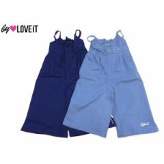 by LOVEiT バイラビット 子供服 18春 レースアップ裾スリット入りサロペット by7881119