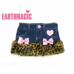 EARTHMAGIC アースマジック 子供服 17秋冬 フェイクファーパンツ付きスカート ea37353228