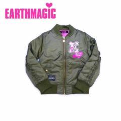 EARTHMAGIC アースマジック 子供服 17秋冬 ナイロンツイルブルゾン ea37312188