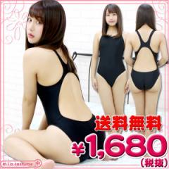 ■送料無料■即納!特価!在庫限り!■ 競泳水着 色:黒 サイズ:M/BIG