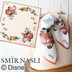 ポイント10倍 サミールナスリ ディズニー ミッキー ミニー スカーフ 011242020 SMIR NASLI Disney VintageLike Scaef ディズニー