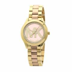 マイケルコース MICHAEL KORS MK3650 レディース ピンク&ゴールドカラー 時計/ウォッチ