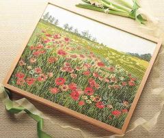 Olympusクロスステッチ刺繍キット7111 「ポピーの咲く頃」