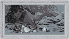 RIOLISクロスステッチ刺繍キット No.1621 「Silver Dream」 (シルバー・ドリーム)【海外取り寄せ/納期1〜2ヶ月】