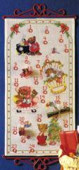OOE クロスステッチ刺繍キット 66226 クリスマス アドベントカレンダー 【海外取り寄せ/納期40〜80日程度】