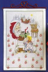 OOE クロスステッチ刺繍キット 66200 クリスマス アドベントカレンダー 【海外取り寄せ/納期40〜80日程度】