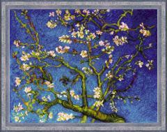 RIOLISクロスステッチ刺繍キット No.1698 「Almond Blossom」  (花咲くアーモンドの木の枝) 【海外取り寄せ/納期30〜60日程度】
