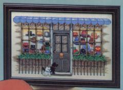 OOE クロスステッチ刺繍キット 22025 帽子店 Hat Shop 【取り寄せ/納期40〜80日程度】