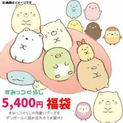 SM-FUKU-5400 すみっコぐらし 2019年キャラクター雑貨福袋(アイテム数は、9点前後☆)