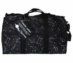 コンステレーション(星座)トラベルボストンバッグ★ブラック 旅行かばん メンズ レディース