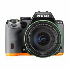 納期約2週間★PENTAX デジタル一眼レフ PENTAX K-S2 DA18-135mmWRレンズキット (ブラック×オレンジ) PENTA