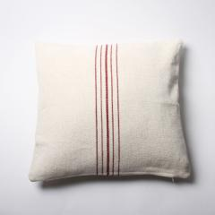 """Thick Cotton Cushion Cover """"Ivory04"""" シックコットンクッションカバー""""アイボリー04"""""""