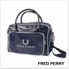 FRED PERRY フレッドペリー メンズグリップバッグ L3212 / TENNIS HOLDALL ネイビー /2018春夏新作