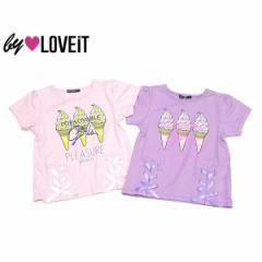 by LOVEiT バイラビット 子供服 18夏 ソフトクリームプリントTシャツ by7882235