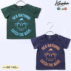 KURANBON クランボン 子供服 18春夏 セイウチTシャツ ベビー キッズ ku1035073