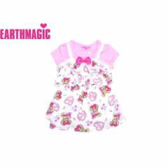 EARTHMAGIC アースマジック 子供服 18春 ロマンチックマフィー総柄Tシャツ2Pセット  ea38159271