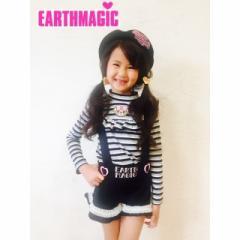 EARTHMAGIC アースマジック 子供服 17秋冬 サロペット ea37352259