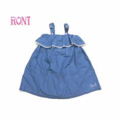 RONI ロニィ ロニー 子供服 18春夏 ライトデニムキャミワンピース r1382190703224