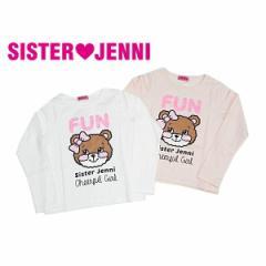 JENNI ジェニィ ジェニー 子供服 18春 ベア天竺長袖Tシャツ je84665