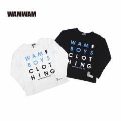 WAMWAM ワムワム 子供服 18春 ソフト天竺長袖Tシャツ wam85236