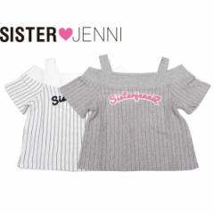 JENNI ジェニィ ジェニー 子供服 18夏 スムースオフショルダーTシャツ je87636