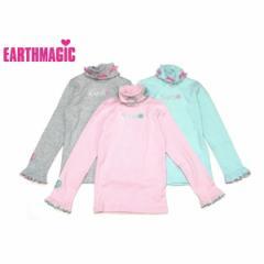 EARTHMAGIC アースマジック 子供服 17秋冬 ハイネック長袖Tシャツ ea37340218