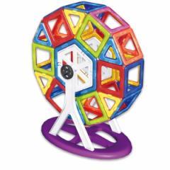 3歳〜★知育玩具 マグブロック【MB05 かんらんしゃセット(38ピース)】TKクリエイト