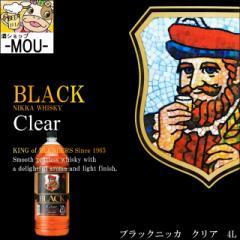 【NIKKA】ブラックニッカ クリア 37度 4000ml【ジャパニーズ ウィスキー ウイスキー】【1本】
