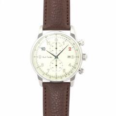 ポールスミス Paul Smith ブロック クロノ BLOCK CHRONO P10141 シャンパンゴールド ブラウンベルト メンズ 時計 ウォッチ
