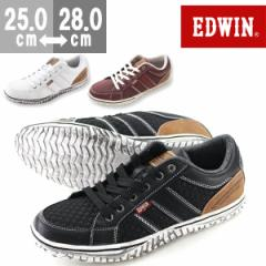 即納 あす着 送料無料 エドウィン スニーカー ローカット メンズ 靴 EDWIN ED-7138