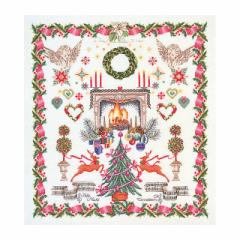 Thea Gouverneur クロスステッチ刺繍キットNo.2077 「Christmas Design」(クリスマス・デザイン)  【海外取り寄せ/納期40〜80日程度】