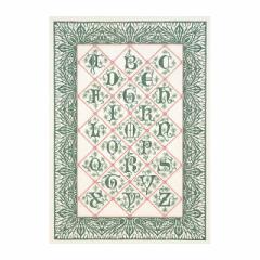 Thea Gouverneur クロスステッチ刺繍キットNo.2050 「Bordered Alphabet」(アルファベット・サンプラー) 【取り寄せ/納期40〜80日程度】