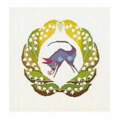 Thea Gouverneur クロスステッチ刺繍キットNo.853 「Taurus」(おうし座 牡牛座) テア・グーヴェルヌール 【取り寄せ/納期40〜80日程度】