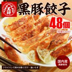 [まとめ買い特価]黒豚餃子48個入り