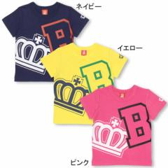 【4/22まで】60%OFF SALE 親子ペア BIGロゴ Tシャツ ベビーサイズ キッズ ベビードール 子供服 9791K