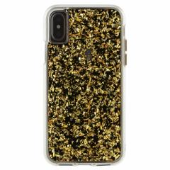 iPhoneX 【Case-Mate/ケースメイト】 「Karat Case Gold」