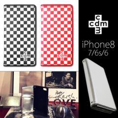 iPhone8/7/6s/6 【cdm/シーディーエム】 「ベーシック」 手帳ケース
