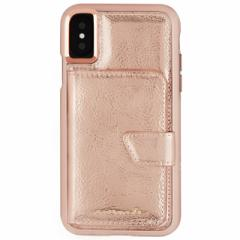 iPhoneX 【Case-Mate/ケースメイト】 「Comapct Mirror Case Rose Gold」