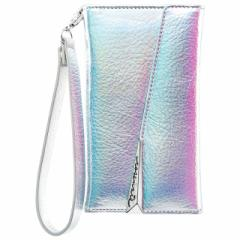 iPhoneX 【Case-Mate/ケースメイト】 「Leather Wrsitlet Folio Iridescent」