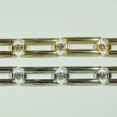 真鍮チェーン B-1075 1m