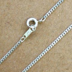 SV925 シルバー ネックレス 喜平チェーン 面取り ダイヤカット AG150DC2 50cm 1本