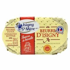 フランス イズニー チャーニング発酵バターAOP 食塩不使用 250g | ISIGNY