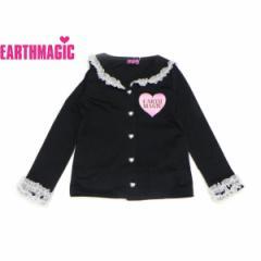 EARTHMAGIC アースマジック 子供服 18春 セーラーカラーカーディガン ea38145211