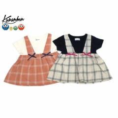 KURANBON クランボン 子供服 18春夏 サスフェイクチュニック ベビー キッズ ku1035107