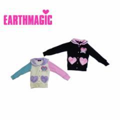 EARTHMAGIC アースマジック 子供服 17秋冬 シルキーファージャケット ea37332202
