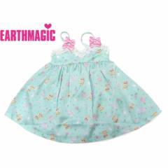 EARTHMAGIC アースマジック 子供服 18春 フラワー&マフィーキャミワンピース  ea38114238