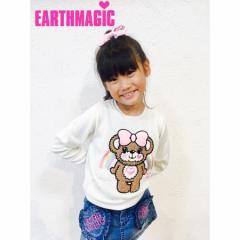 EARTHMAGIC アースマジック 子供服 17秋冬 アクリルニット  ea37361175