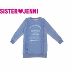 JENNI ジェニィ ジェニー 子供服 18春 ニットデニムワンピース je84626