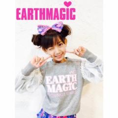 EARTHMAGIC アースマジック 子供服 17秋冬 長袖Tシャツ ea37343159